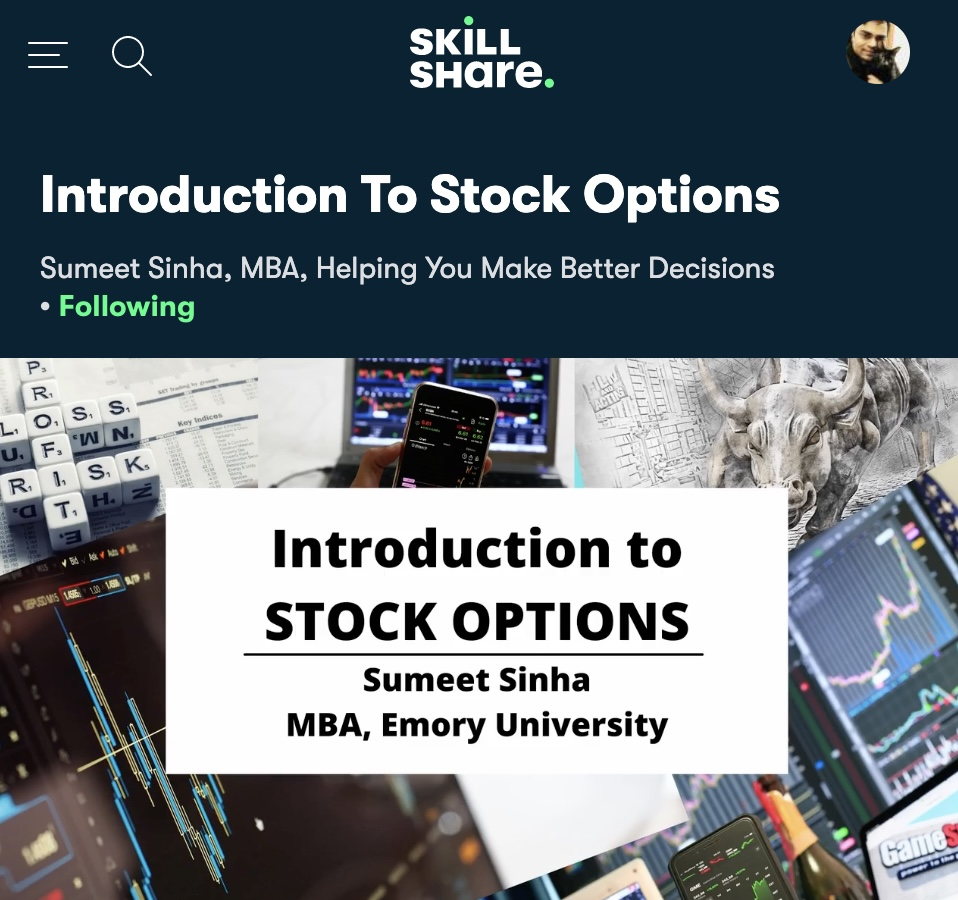 best course on stock option tradings
